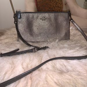 Coach Pebble Leather Crossbody